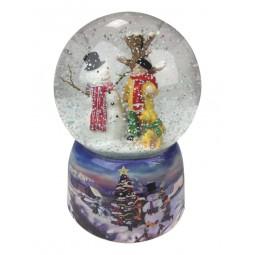Palla di neve, pupazzo di neve