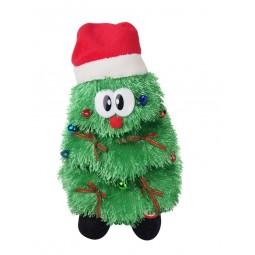 Carillon albero di Natale danzante con berretta