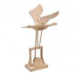 """Puzzle tridimensionale """"uccello"""" in legno"""