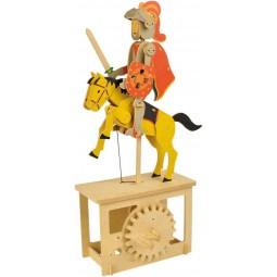 """Puzzle tridimensionale """"cavaliere"""" in legno"""