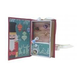 Pop up Libro in miniatura di canzoni rosso
