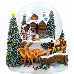 "Snowglobe plays ""Joy to the world"""