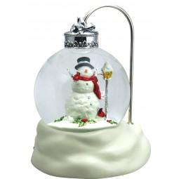 Sfera Lanterna pupazzo di neve