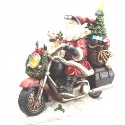 Babbo Natale Motocicletta