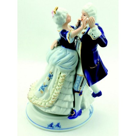 Porcelain pair blue-white