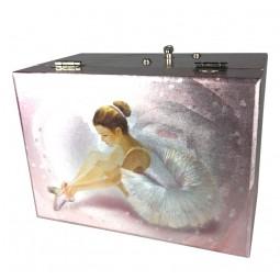 Cofanetto portagioie ballerina