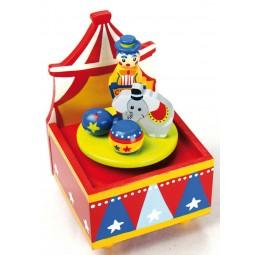 Carillon in legno circo