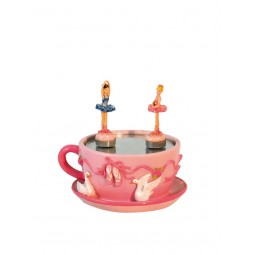 Music box dancing ballerina