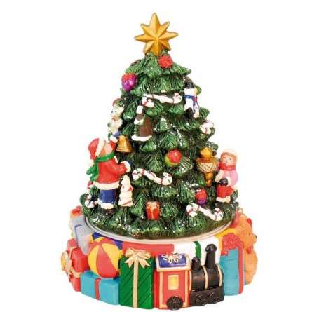 """Small christmas-tree with presents"""