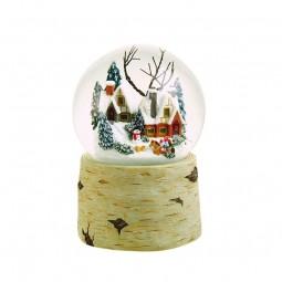 Palla di neve 120 mm con bambini turbini di neve fanno girare