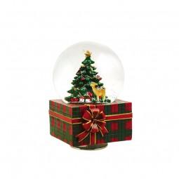 Palla di neve regalo di Natale