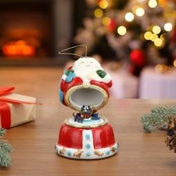 Carillon in porcellana – Babbo Natale