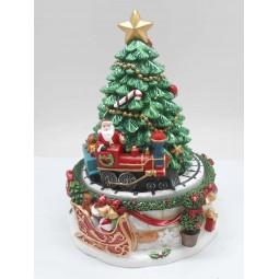 Christmas tree and Train