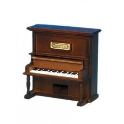 Pianoforte verticale in legno