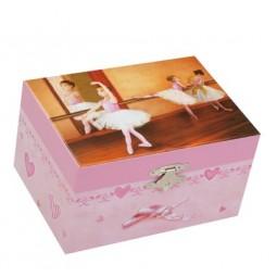 Cofanetto portagioie con ballerina