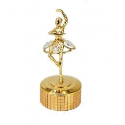 Ballerina danzante d'oro (24 carati)