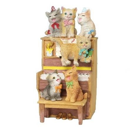Pianoforte con gatti