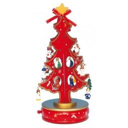 Albero di Natale rosso 280 mm