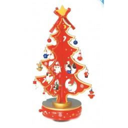 Albero di Natale rosso 330 mm