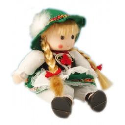 Bambola in costume tradizionale grande