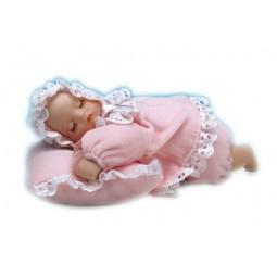 Neonata con cuscinetto