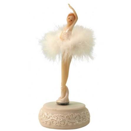 Ballerina mit Rüschenkleid