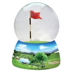 Sfera golf con brillantini