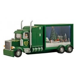 Camion piccolo di Babbo Natale