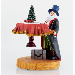 Babbo Natale da mago