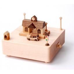 """Carillon in legno """"stazione"""""""