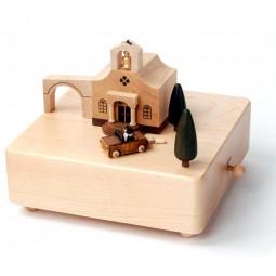 """Carillon in legno di altissima qualità """"matrimonio"""""""