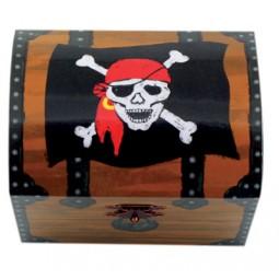 Cassa di tesori con il tema dei pirati