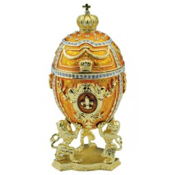 Carillon a forma di un uovo Fabergé