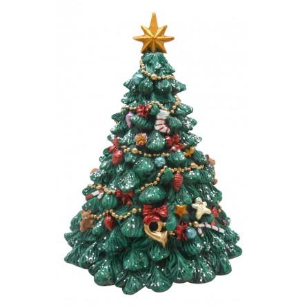 Foto Di Natale Albero.Albero Di Natale Decorato