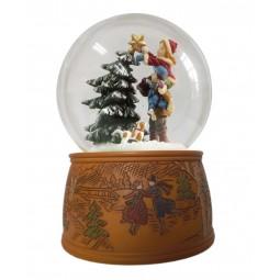 Stella sull'albero di Natale