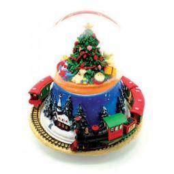 Albero di Natale Sfera e treno