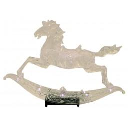 Cavallo a dondolo illuminato