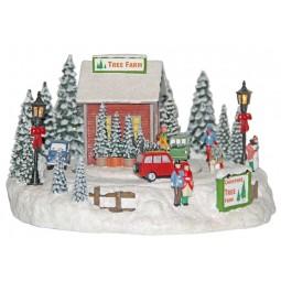 Scuola albero di Natale