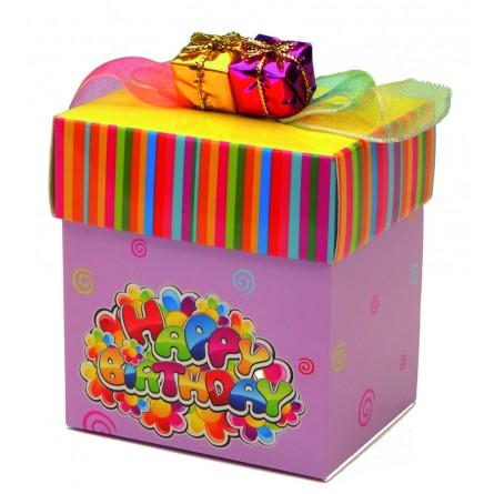 Espositore scatole regali Tanti Auguri