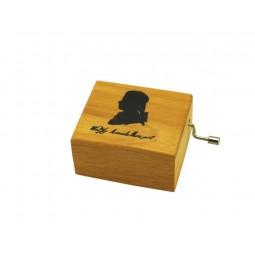 Cofanetto in legno Mozart