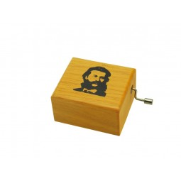 Ghironda in legno Johann Strauss
