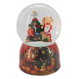 Sfera Babbo Natale e regali