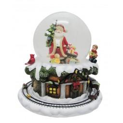 Sfera Babbo Natale e Albero