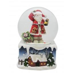 Sfera Babbo Natale e lanterna