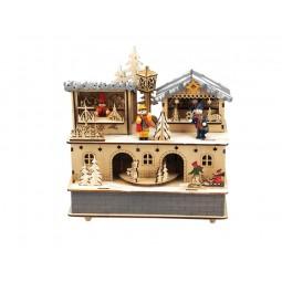 Carillon di legno, mercato di Natale
