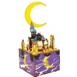Notte magica puzzle di legno