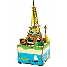 Torre Eiffel puzzle di legno